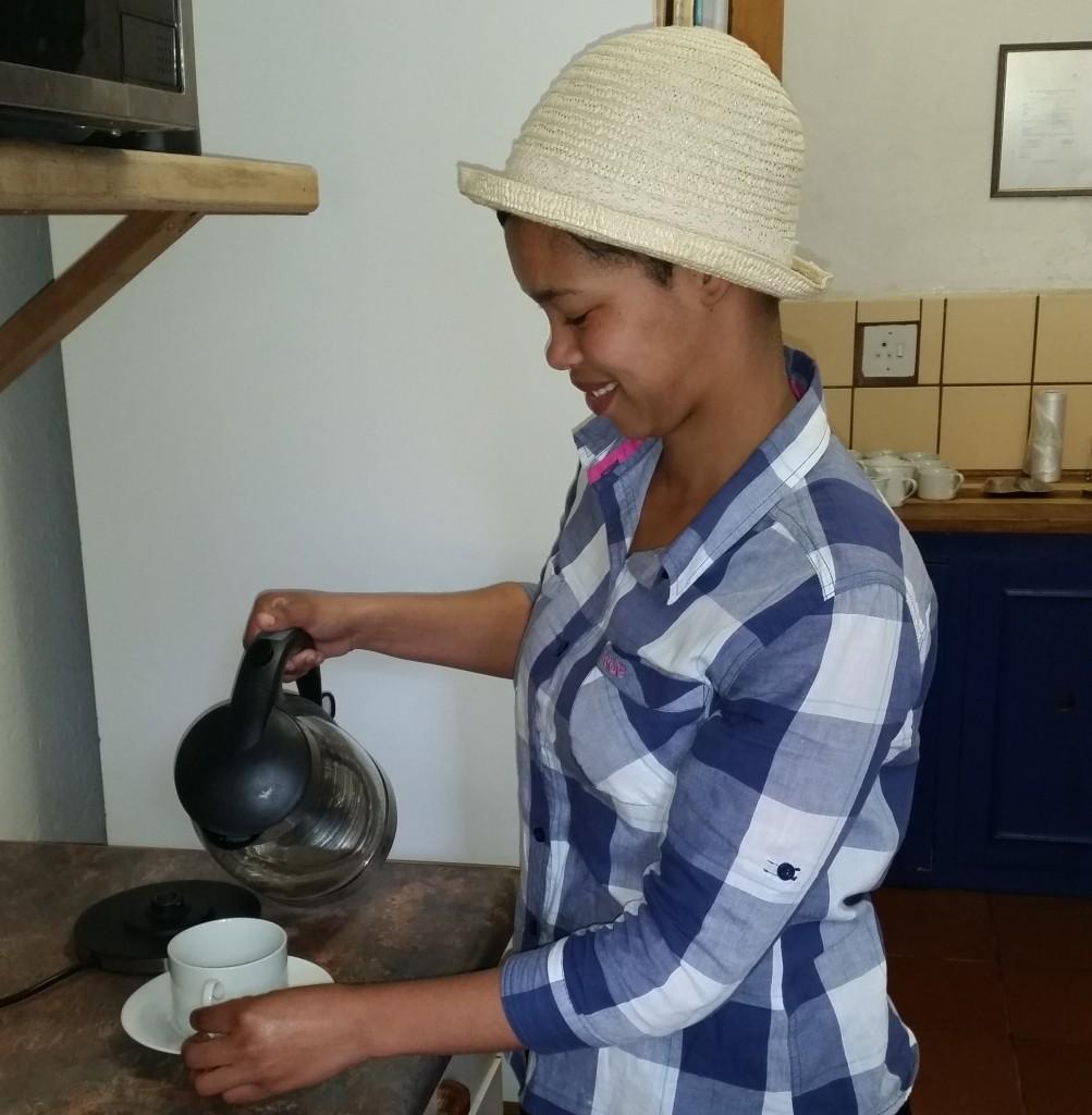 Our Tea Garden Assistant - Ronel